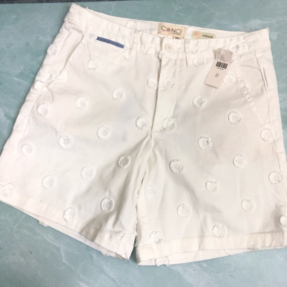 Anthropologie Pants - NWT Chino by Anthropologie white shorts size 27